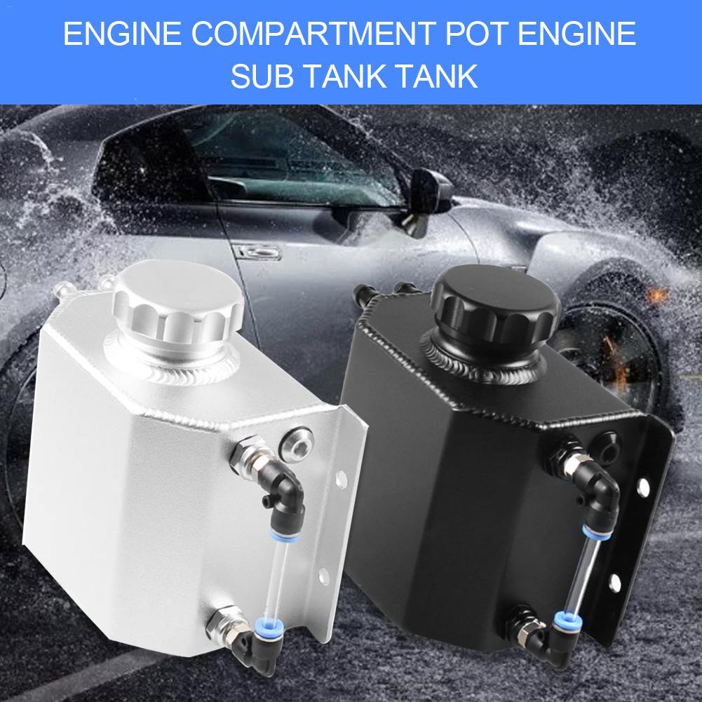 Général voiture Modification Automobile 1L moteur huile attraper peut reniflard réservoir radiateur trop plein réservoir moteur sous réservoir pompe à eau
