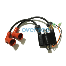 OVERSEE 6B4-85570-00 Ignition Coil For Yamaha 9.9D 15D 6B3 6B4 New Model Outboard Engine