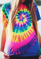 Unicórnio Tie Dye T 3D camisa Roupas t camisas Dos Homens Das Mulheres Moda Verão Estilo de Impressão cobre t tshirts