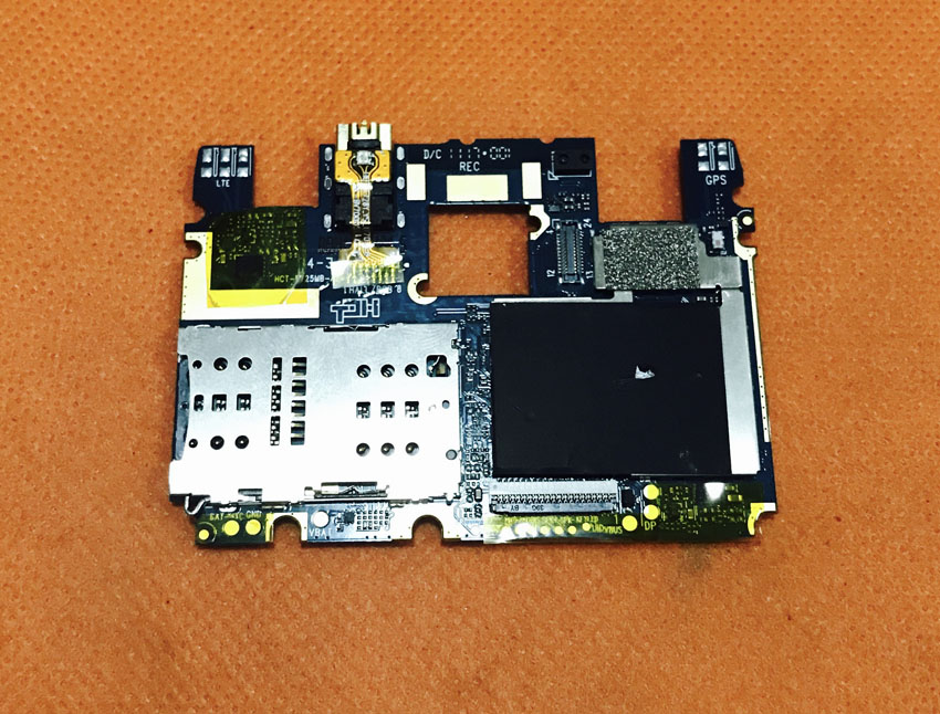 Used Original mainboard 4G RAM+64G ROM Motherboard for Blackview BV7000 Pro MT6750T Octa Core 5 FHD Free shipping