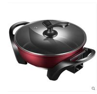 Free shipping Electric hot pot split multi function electric heat pan household Multi Cookers Slow Cookers