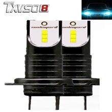 TXVSO8 2 шт h7 светодиодный 6000 K фар автомобиля луковицы CSP чипов-12 V 30000LM 55 W лампа мини автомобилей свет лампы automotivo люсис привело para авто