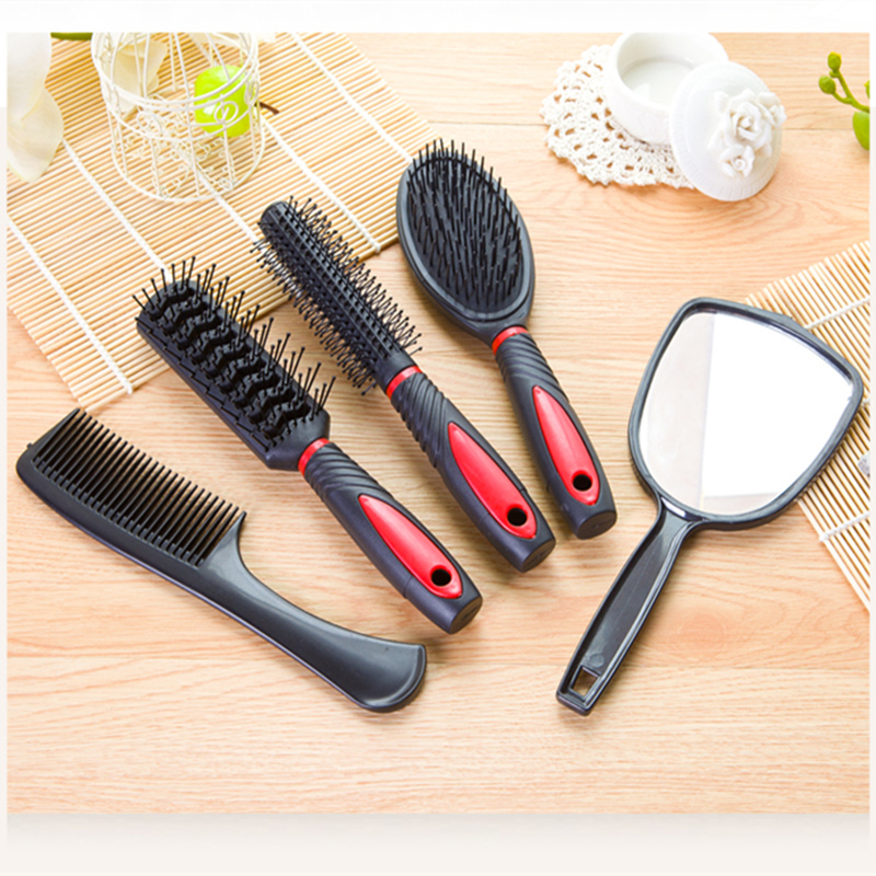 Round rolling comb brush hair anti-static airbag massage comb professional hairdressing salon brush hairstyle tool set #833