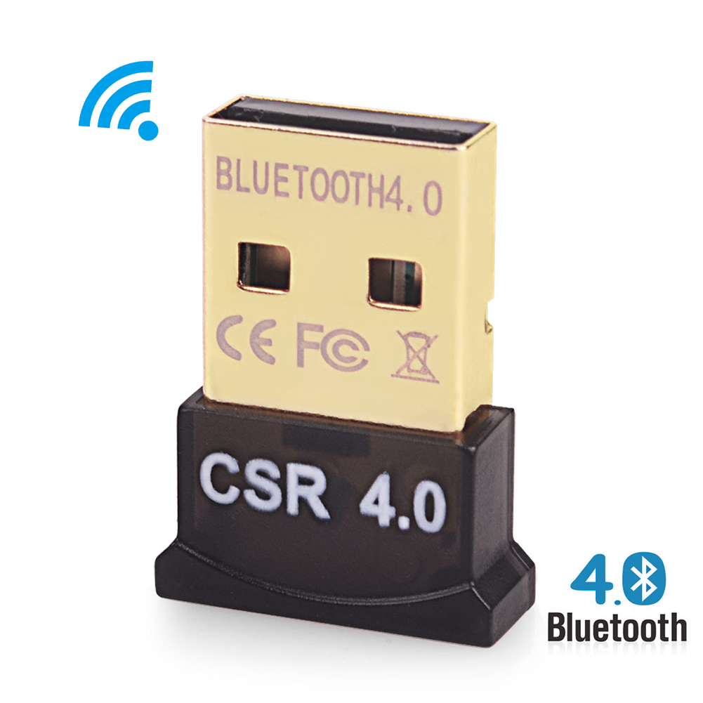 Wireless USB Bluetooth Adapter Mini Bluetooth USB Dongle 4.0 Portable Dual Mode Bluetooth Transmitter Receiver For Computer PC