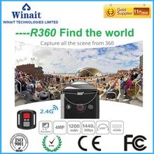 DHL Free Ship EKEN WiFi Remote Control Video 220 Degree Ultra Wide Lens 190 DV H360 R360 VR360 Camera Action Sports Camera