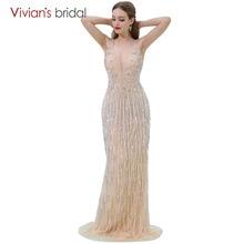 Sequin Mermaid Evening Dress Prom Dress Vivian's Bridal