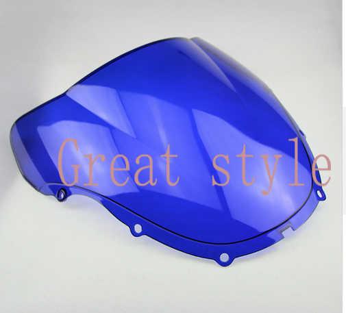 Nieuwe Hoge kwaliteit Voor Honda CBR600F4 CBR 600 CBR600 F4 1999 2000 99 00 ABS fiets motorrijwiel Voorruit Voorruit blauw