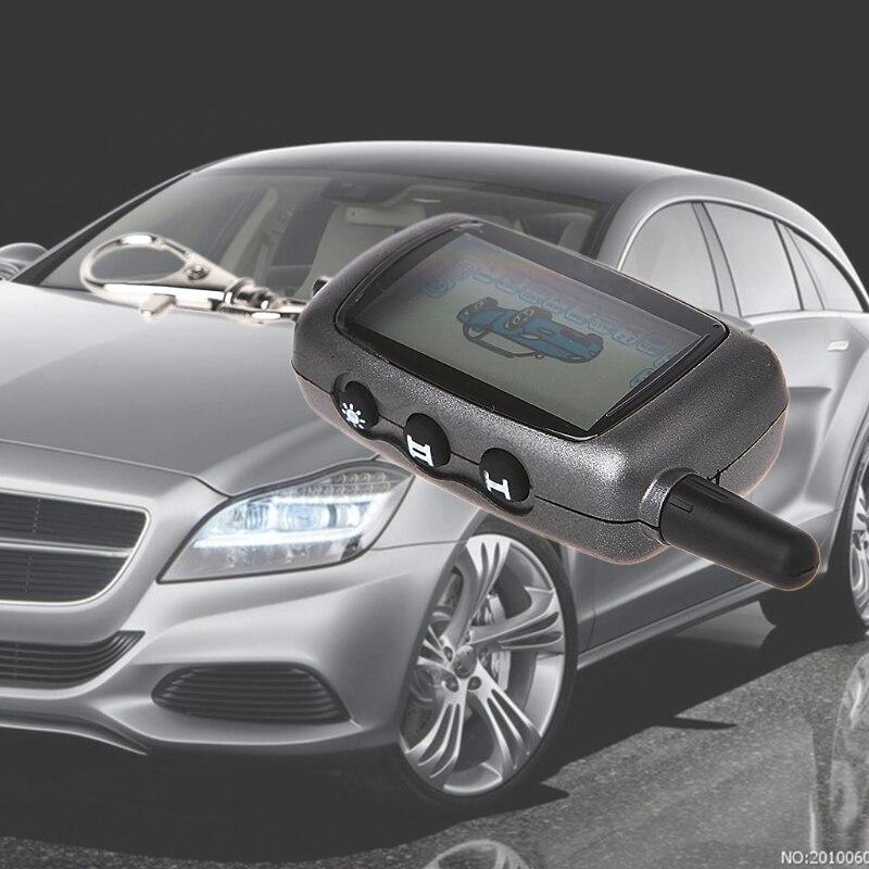 Car LCD Remote Controller Keychain 2-Way Car Alarm For StarLine A6 Keychain alarm Automobiles Remote Controls