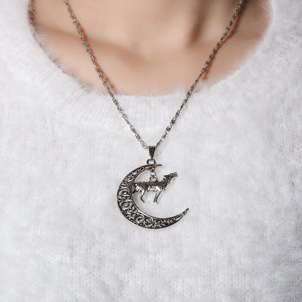 shaped gold cute necklaces silhouette necklace fox super pretty in charm