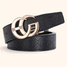 2019 Designer Belts Men Luxury Male Genuine Leather Waist Strap for Men Women Fashion G Belt Quality Printed Leather Belts