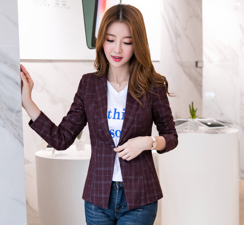 Grosir green plaid blazer Gallery - Buy Low Price green plaid blazer Lots  on Aliexpress.com 9d55a0cee5