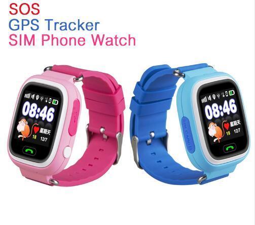 GPS Smart Kid Safe smart Watch SOS Вызова Расположение Finder Locator Tracker для Ребенка Anti Потерянный Монитор Маленький Сын Наручные Часы