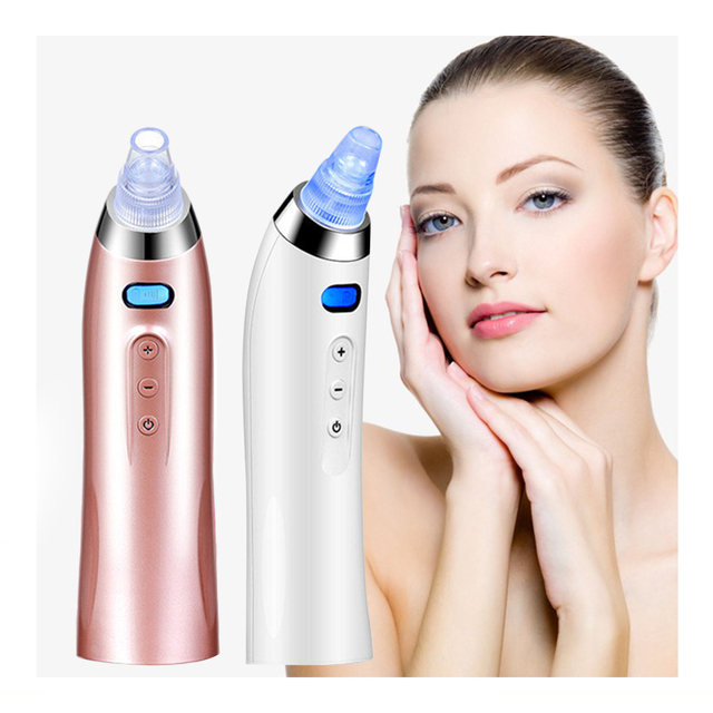Face Pore Cleaner Blackhead Remover Black Spots Dots Pore Vacuum Comedo Suction Facial Cleaning Acne Pimple Remover Tool