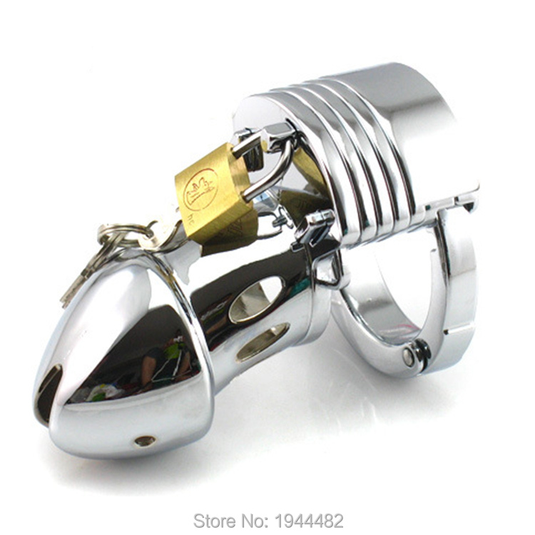Sodandy New Male Chastity Device Metal Cock Cage Stainless
