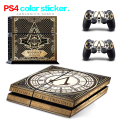 New Arrival for PS4 Skin 1 Set Body Skins For Play station 4 Sticker Decal Cover + 2 Controller Sticker ps4 accessories