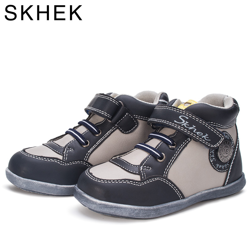 SKHEK Spring Autumn Kids Shoes Sport Shoes Boys Running Shoes Hook And Loop Toddler Girls Shoes Breathable Casual Sneakers in Sneakers from Mother Kids