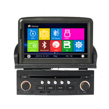 8″ Car DVD Player GPS Navigation System for Peugeot 307 2007 2008 2009 2010 2011 Bluetooth Radio Ipod RDS USB Free Shipping Map