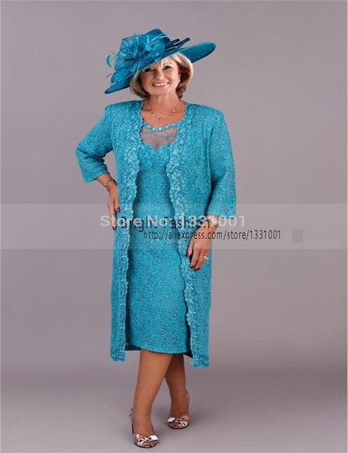 ed780b9c8 Madre Del Vestido de Novia 2016 Apliques Boda vestido de La Madre Con la  Chaqueta de
