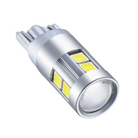 replacement car 1pcs White Car Clearance Lights bulbs T10 12V W5W 9smd LED Car Wide  lamp Replacement Bulbs (3)
