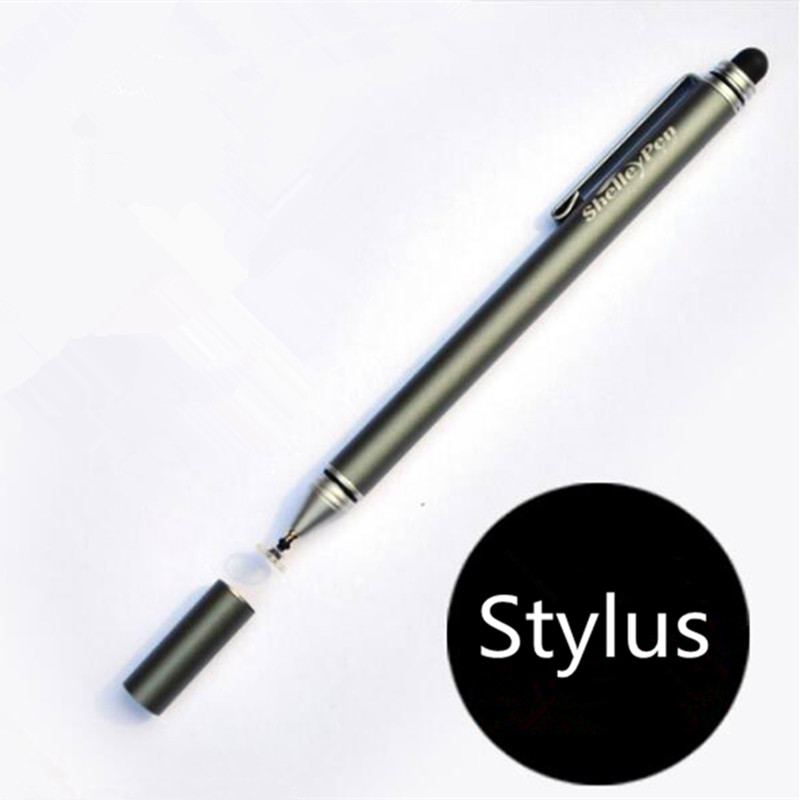 2pcs Stylus for Capacitive Screen Touch Pen for ipad Touch Screen Pen for iphone good at drawing Double End Touch scalable capacitive touch screen stylus pen for iphone ipad ipod touch silver