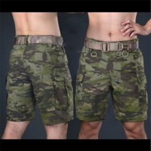 2016 Multicam military shorts Multicam Tropic Knee length short pants for trainning Camouflage ripstop shorts army shorts