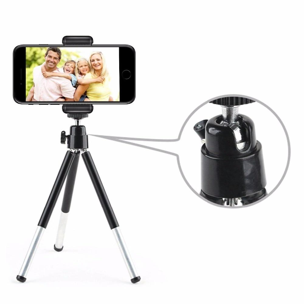 DUSZAKE P15 выдвижной настольный мини-штатив для мобильного телефона Штатив для iPhone Samsung Xiaomi камера Мини штативы для телефона