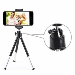 Image 2 - DUSZAKE P15 Extentable デスクトップミニ電話の三脚携帯電話の三脚 Iphone サムスン Xiaomi カメラミニ三脚電話