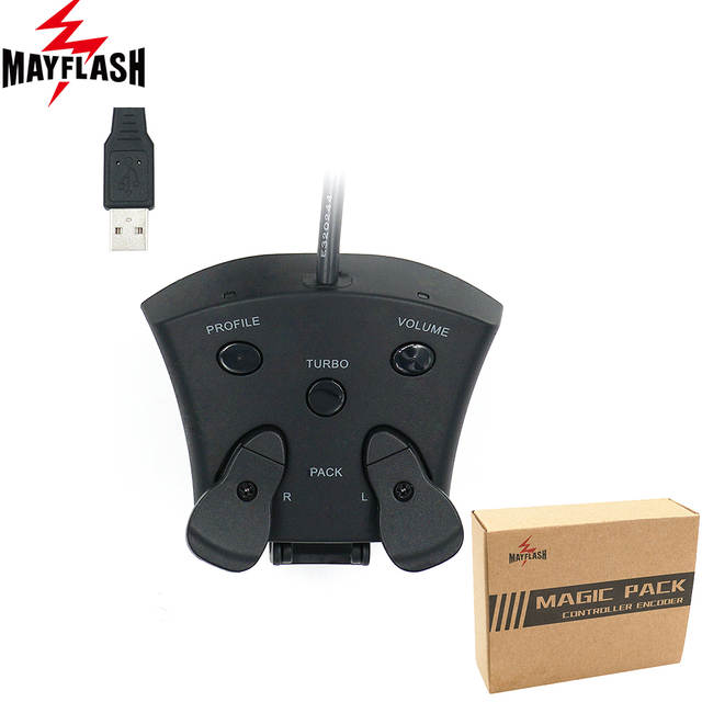US $34 99 20% OFF|Mayflash Magic Pack for PS4 Controller Encoder FPS  Adapter with MODS and Paddles For PS4-in Replacement Parts & Accessories  from