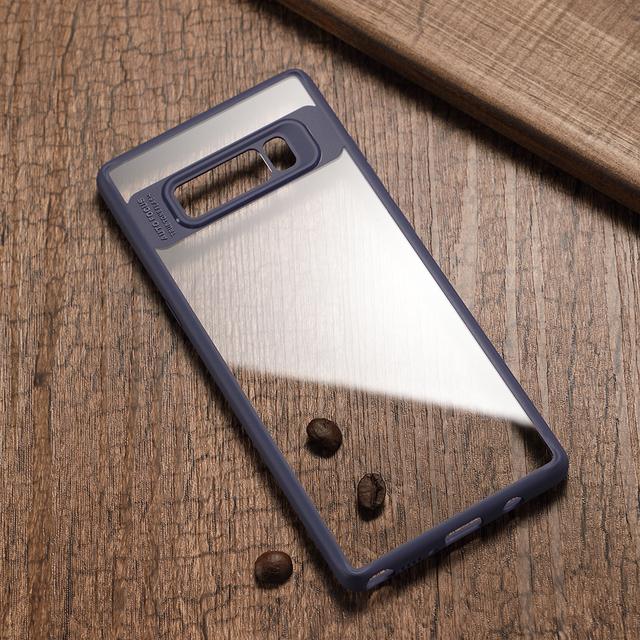Joyroom Case For Samsung Galaxy Note 8 Transparent PC & soft Silicone TPU coque Back Cover Case For Samsung Galaxy Note 8 case