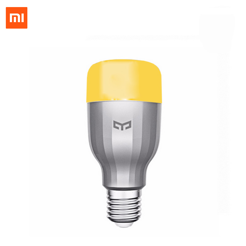 Xiaomi Yeelight Smart LED Bulb Alexa voice control Wi Fi APP Multi Color RGB Dimmable 600