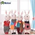 Metoo Upgraded 11'' Hot Mini Cute Tiramisu Bunny Plush Toys Rabbit Dolls Decoration Girls Fashion Gift For Baby Children Kids