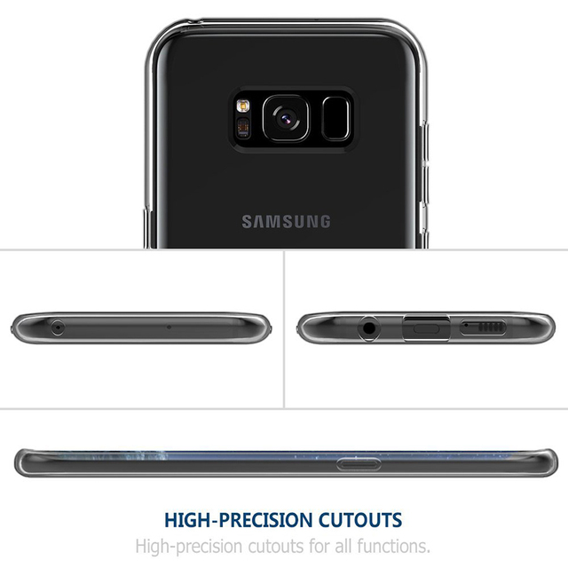 Ultra Thin Transparent Soft TPU Case for Samsung Galaxy S9 J4 J6 A8 Plus 2018 A5 A3 A7 2017 S8 Plus S6 S7 Edge Silicone Cover