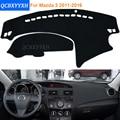 2016 Car Styling Sombra Protectora Dashboard Mat Cojín Pad Photophobism Alfombra Interior Para Mazda 3 M3 2011-2016