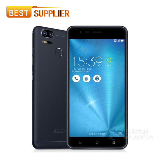 "ASUS Zenfone 3 Zoom ZE553KL LTE 4G Mobile phone 4GB RAM 128GB ROM 5.5"" Fingerprint ID 5000mAh Android 6.0 Dual 12 MP"