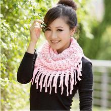 2016 Fashion Women Scarves Autumn Winter Warm Knit Wool Snoo