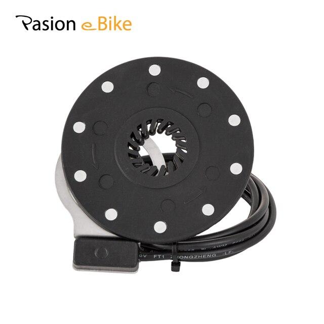 PASION E велосипед PAS педаль помощник сенсор Электрический велосипед PAS сенсор системы 10 магнитов черный электрические велосипеды Conversion Kit запчасти
