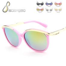 2018 nueva moda de los niños gafas de sol niños niñas niños bebé niño  seguridad gafas de sol infantil 65b7c987c4