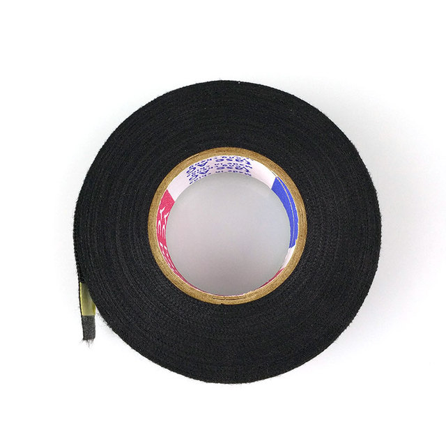 15 Meters Wires Fabric Tape High-temperature Protection Loom Harness Tape Cars Aceessories For DVR Sensor Radio Camera