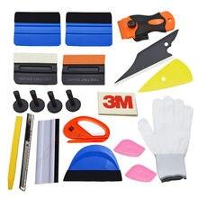 EHDIS 21Pcs Car Window Tint Tools Kit Vinyl Car Film Wrap Styling Tools Art Knife Vinyl