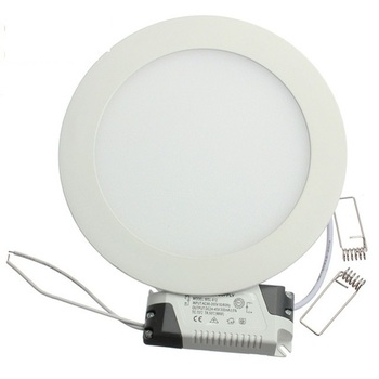 1pcs/lot Dimmable Ultra Thin LED Panel Downlight 3W 4W 6W 9W 12W 15W 25W Round Ceiling Recessed Light AC85-265V panel lamp