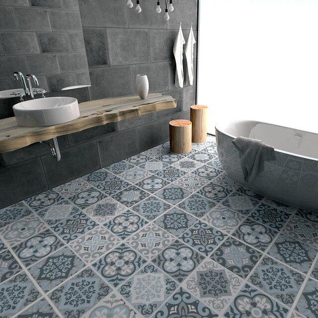Blauw grijs tegels anti slip slijtvaste waterdichte vloer te plakken ...