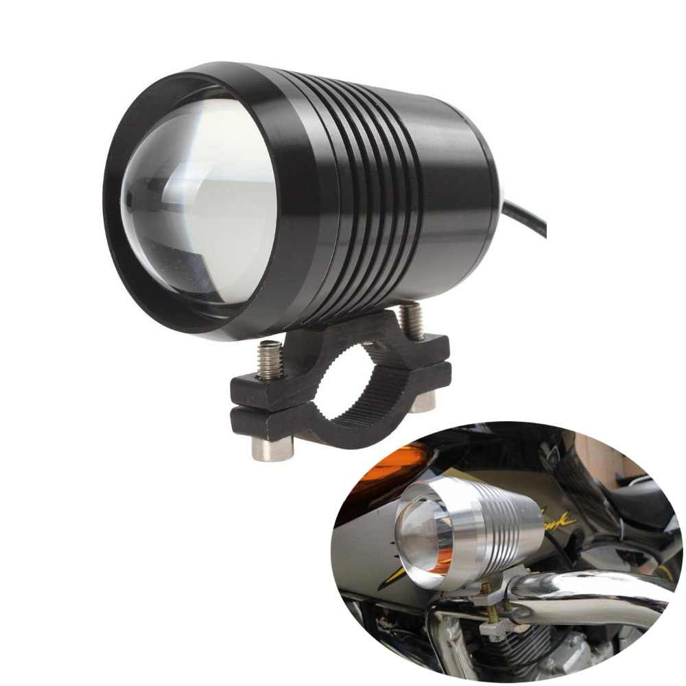 Motorcycle Headlight U2 Laser gun cannon 30W LED Work light driving DRL car fog light moto spot lamp Motorbike Head light
