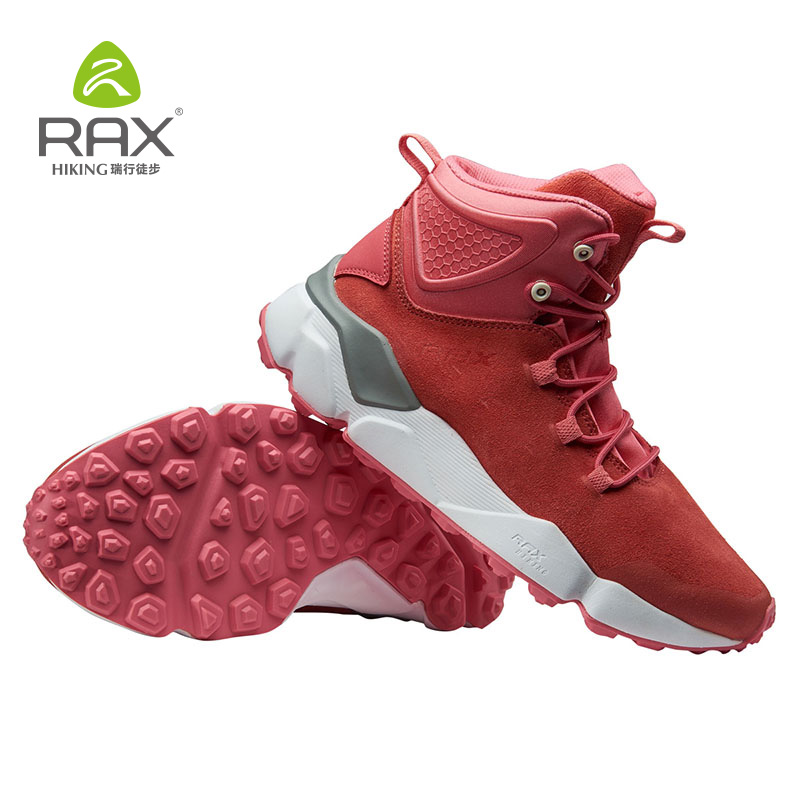 RAX 2018 Newest Winter Hiking Boots Women Top Women Hiking Waterproof Trekking Boots Mountain Climbing Shoes Sports Rubber Sole in Hiking Shoes from Sports Entertainment