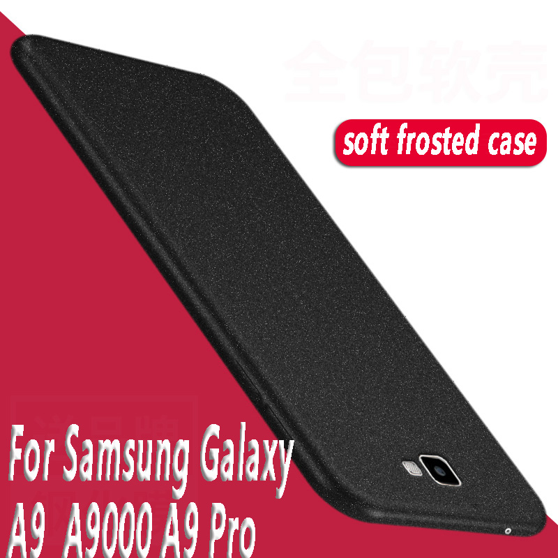 For <font><b>Samsung</b></font> Galaxy A9 Pro Case 6 inch Frosted Shield Case For <font><b>Samsung</b></font> Galaxy A9 Pro A9Pro <font><b>A9100</b></font> TPU Soft Silicone Cover for a9 image