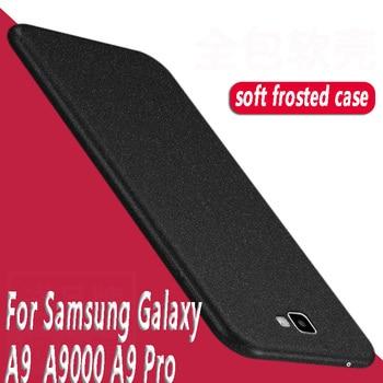 Para Samsung Galaxy A9 Pro funda 6 pulgada congelado Shield funda para Samsung Galaxy A9 Pro A9Pro A9100 TPU funda de silicona suave para a9