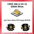 Neueste Cree XM L2 U4 1A 6500 Karat Weiß LED Emitter 1 stück-in Leuchtperlen aus Licht & Beleuchtung bei