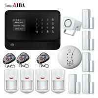 SmartYIBA G90B Plus GSM/WiFi/GPRS Security Alarm Kits APP Control IOS Android WIFI Intruder Burglar Alarmes Door Motion Alarm