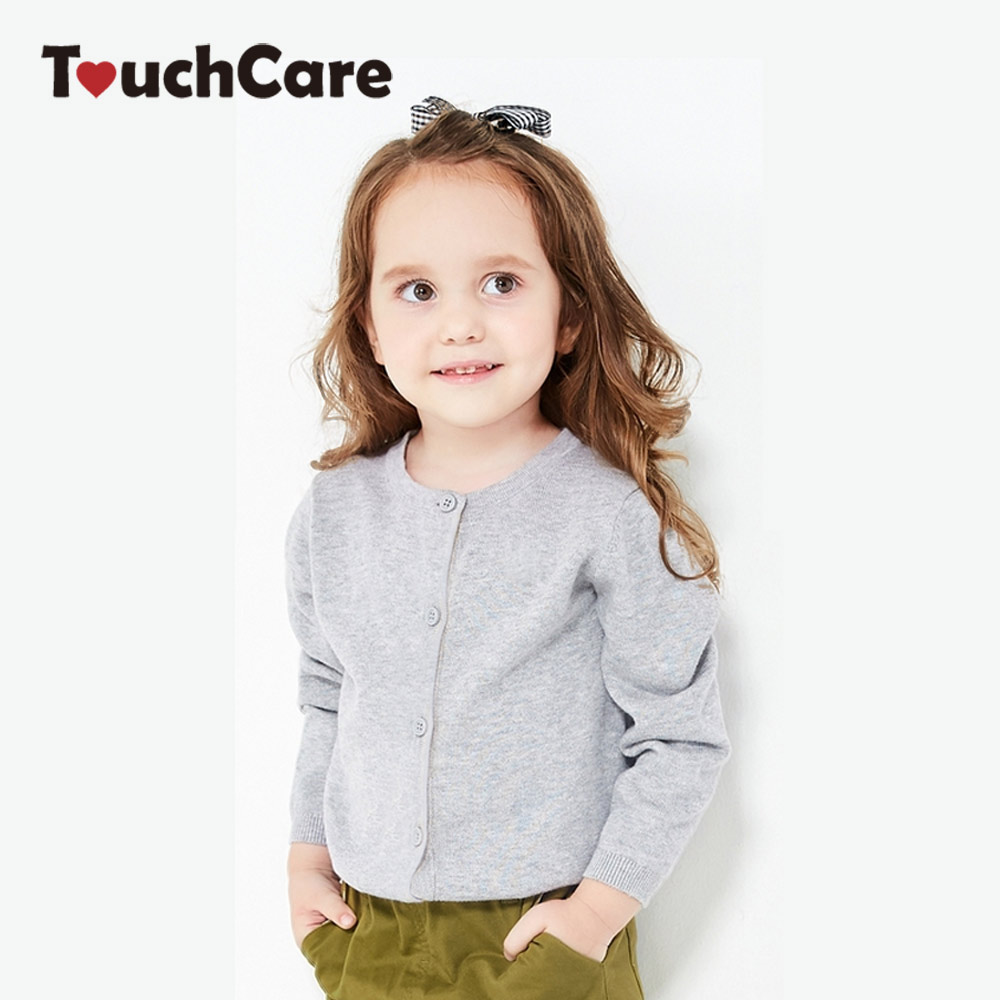 4423c2a99b96 Touchcare 1 6 Years Girl Sweaters Kid Outerwear Cardigan Casual ...