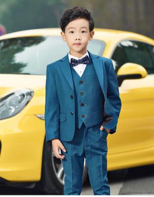 2018 Hohe Qualität Formalen Mode Hochzeit Anzüge Für Jungen Kinder Prom Baby Anzug Oder Party Boy Kleidung Kostüm Für Jungen 4 Stücke ZuverläSsige Leistung