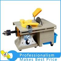 14pcs 2 IN 1 rock polisher cutting machine jade bench grinder machine 26000r/min 350w